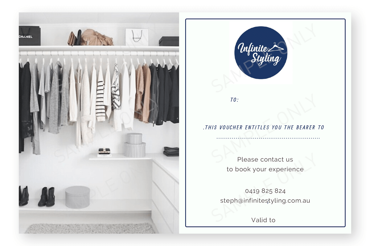 Infinite Styling | Styling Gift Voucher